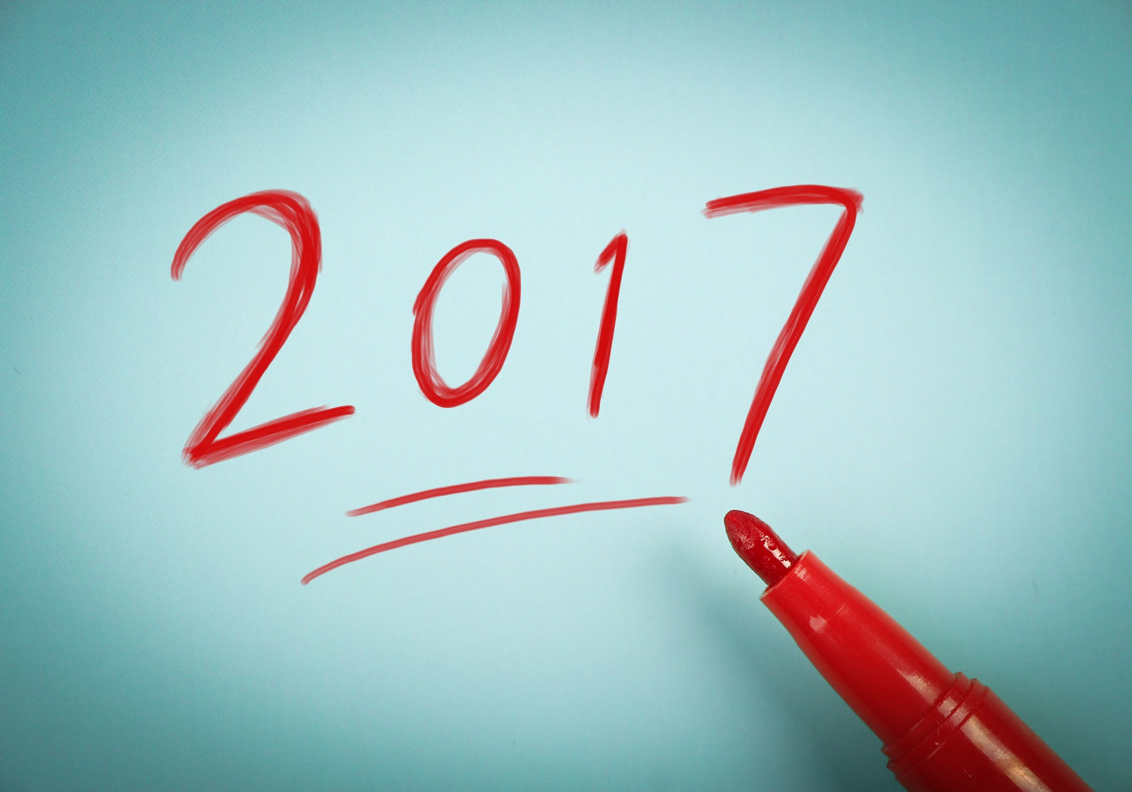 62391685 - concept of new year 2017 ahead for background used.